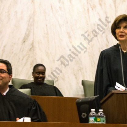 Swearing in Judge Steven Tiscione 04/20/2016 - Brooklyn Archive