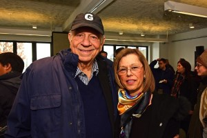 Former Citi Storage site owners Norm and Elaine Brodsky. - Brooklyn Archive