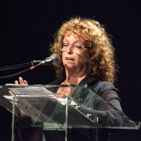 St. Ann's Warehouse Waterfront Theater Ribbon Cutting 10/06/2015 - Brooklyn Archive