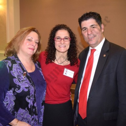 Laura Messiana, Hon. Joy Campanelli, and Dominic Famulari. - Brooklyn Archive