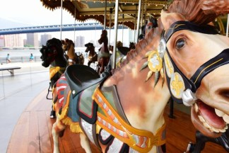 Jane's Carousel 1,000th Birthday Party 07/22/2017
