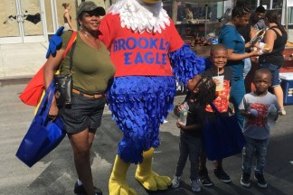 Eddie the Eagle at Atlantic Antic 2017 - Brooklyn Archive