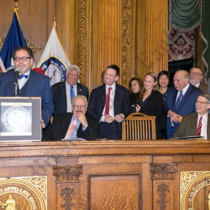 Judicial Installation – Andrew Borrok 01/08/2018 - Brooklyn Archive