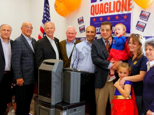 John Quaglione Pep Rally 10/16/2017 - Brooklyn Archive