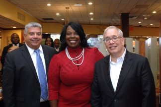 Pre-Election Breakfast at Juniors hosted by Steve Cohn 09/17/2018