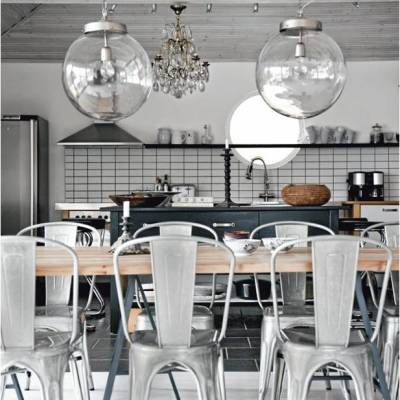 Shop The Room – Rustic Contemporary Dining Room