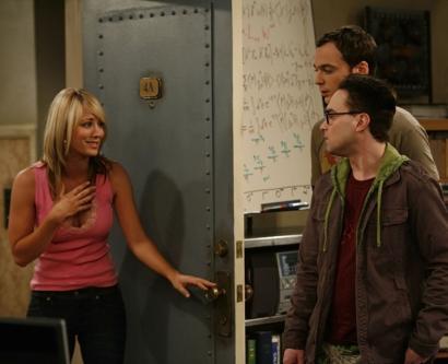 Big Bang Theory Door