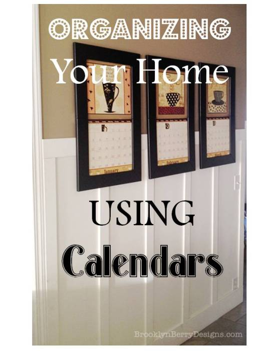 Calendar Organizer