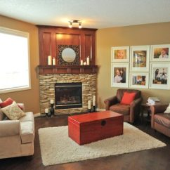 Furniture Placement In Small Living Room With Corner Fireplace Daybed Arranging A - Brooklyn ...