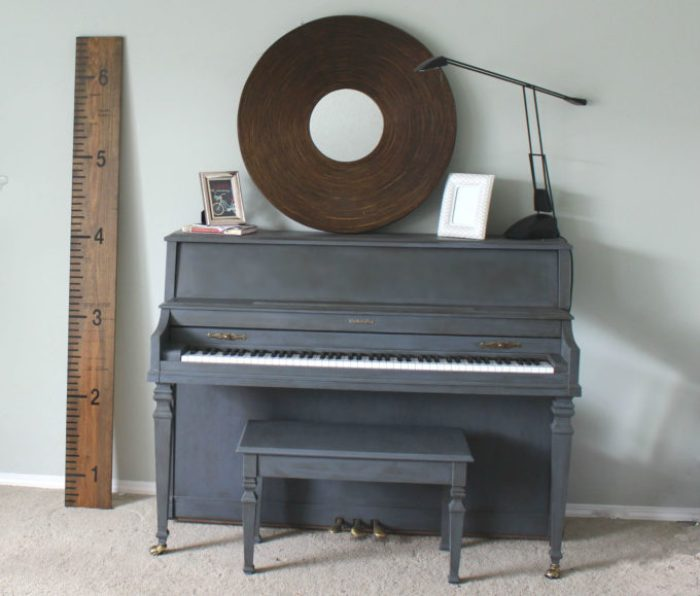 my painted piano