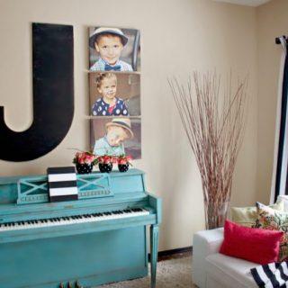 Painted Pianos & Annie Sloan Chalk Paint