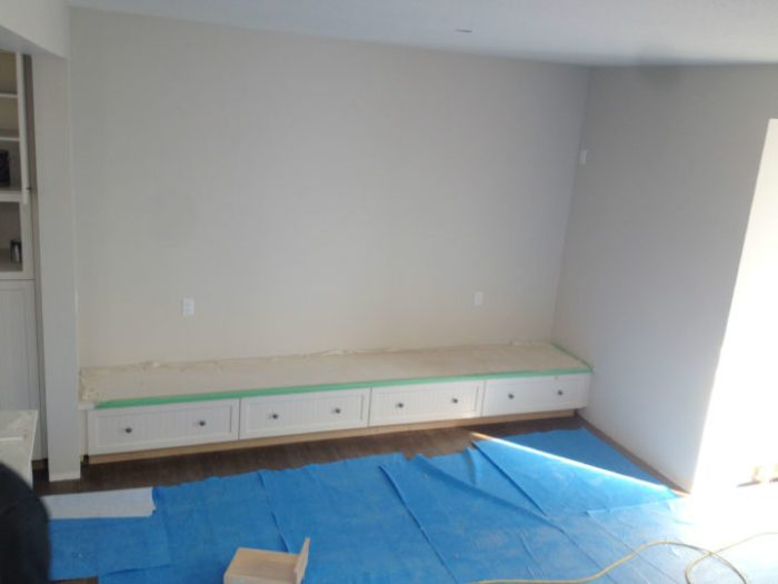 banquette before
