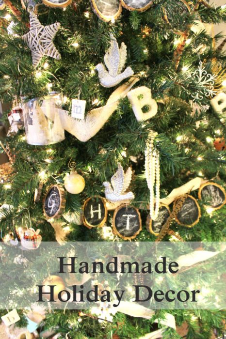 Handmade Holiday Decor - ornaments and gift ideas under $25.