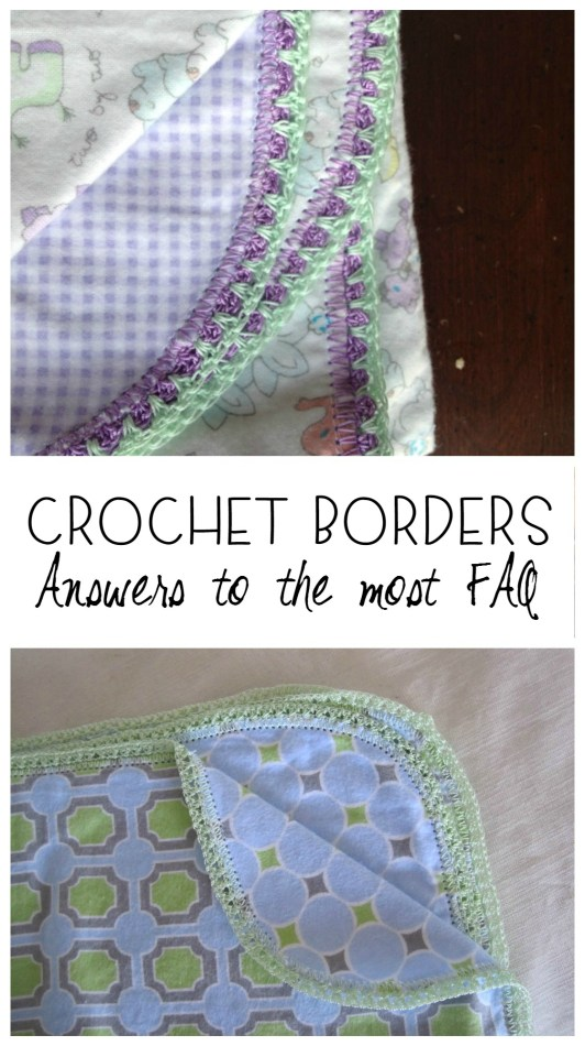 crochet hemstitch FAQ