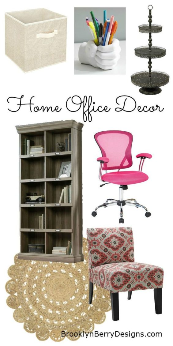 Back To School For Moms - Home Office Decor