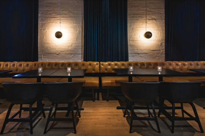 Restaurant design model citizen speakeasy style