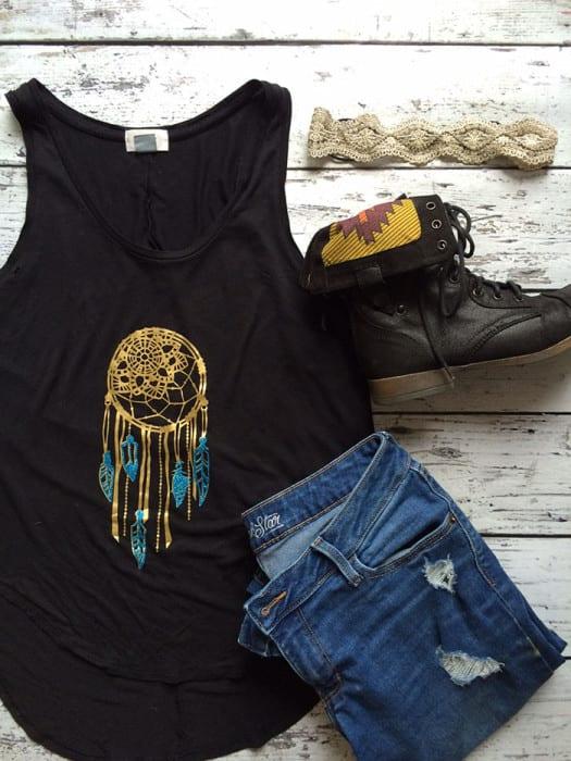 Trendy DIY Shirts with Cricut Explore