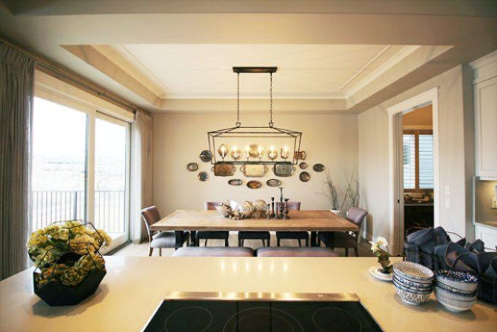 Luxury Lake House Dining Room