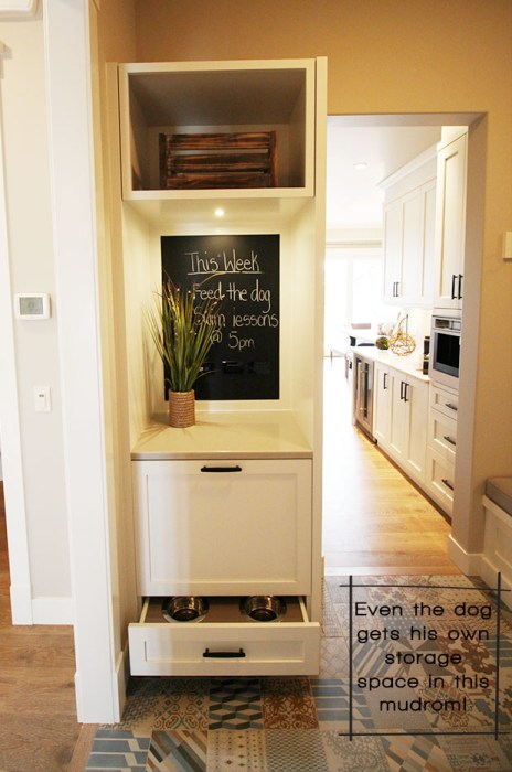 Mudroom Dog Locker