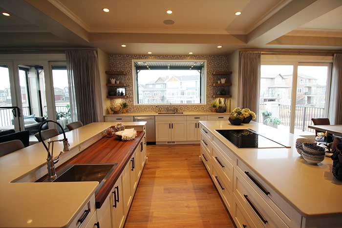 Luxury Lake House Kitchen