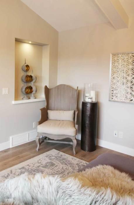 Luxury Lake House Master Bedroom
