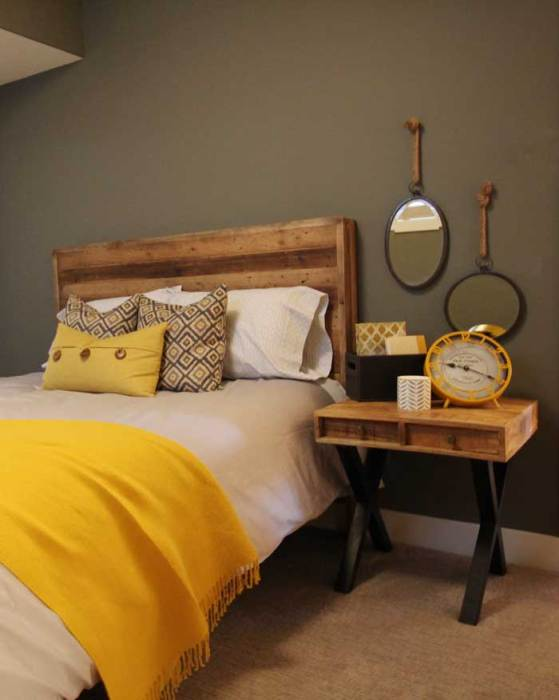 guest-room industrial Luxury Lake House