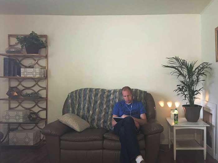 Living Room Art E-Design - Before