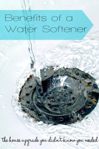 Benefits of a water softener