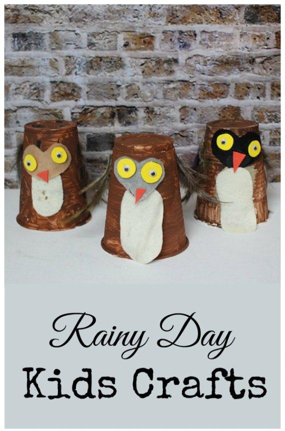 rainy day kids crafts