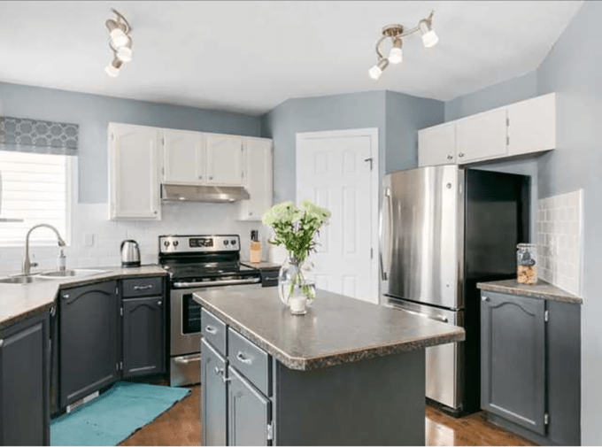 diy kitchen remodel painted cabinets brooklyn berry designs