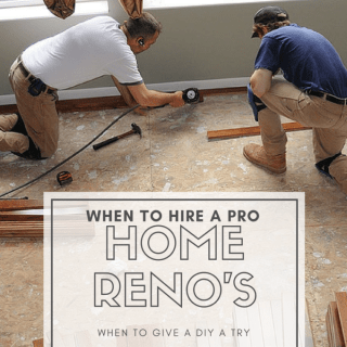 Home Renos: 6 WAYS TO KNOW WHEN TO CALL A PRO
