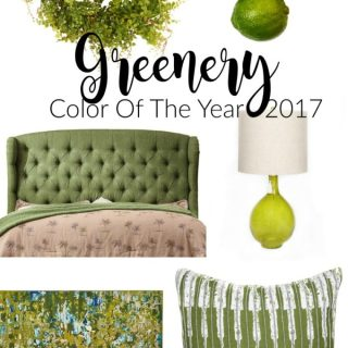 2017 Color Of The Year – Greenery #PantonePicks
