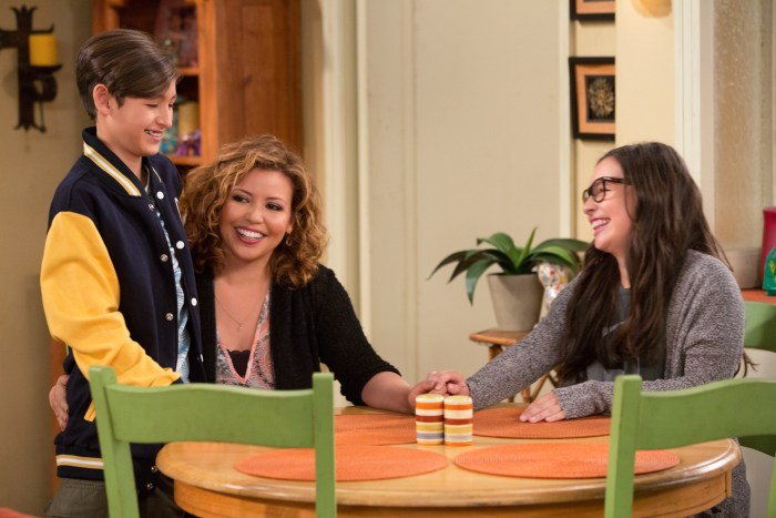 Tough Conversations brought up gracefully with clips from the Netflix show One Day At A Time