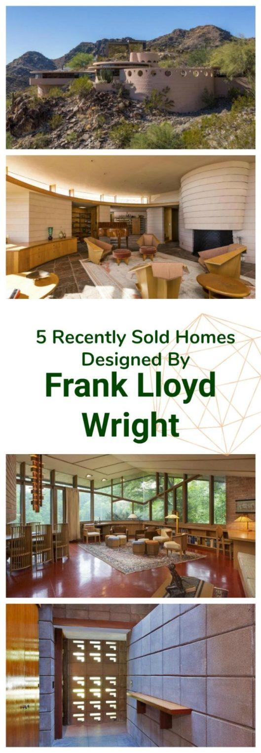 5 Homes Designed By Frank Lloyd Wright