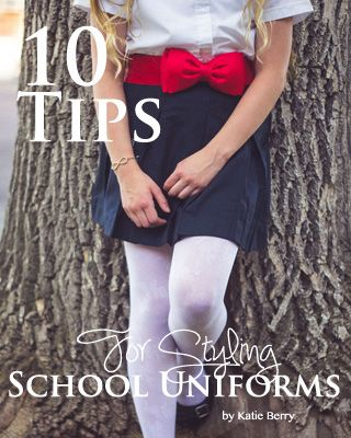 10 Ways to style school uniforms