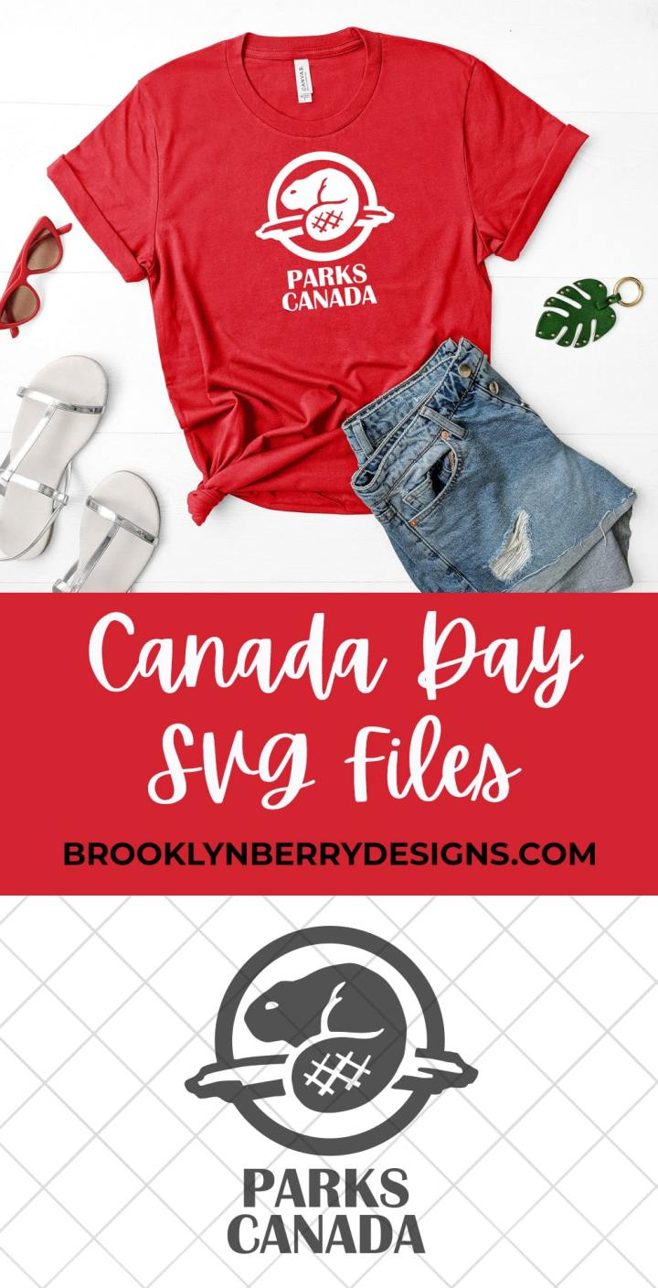 Make your own Parks Canada Shirt to celebrate Canada on Canada Day or feel patriotic any day! via @brookeberry