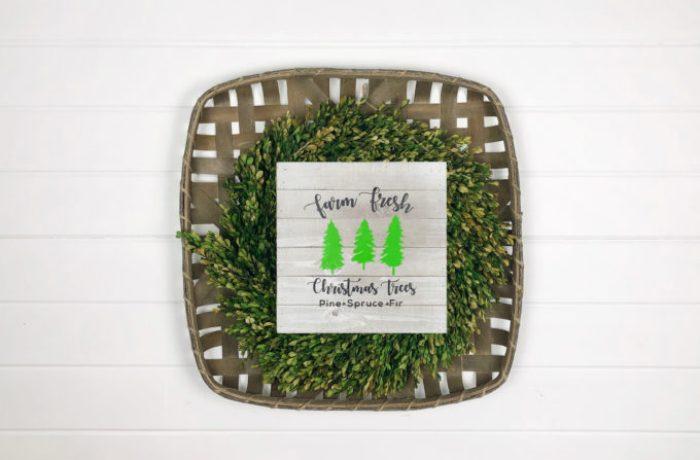 Farmhouse sign vinyl project - vinyl project ideas for home decor.