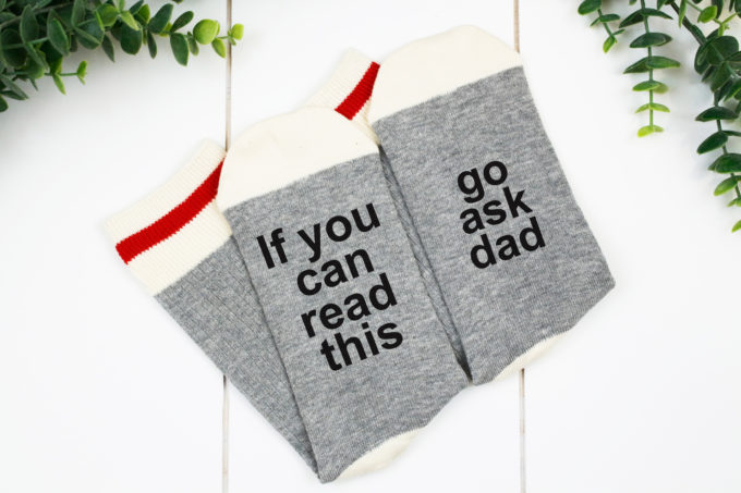 Funny socks - DIY Mothers Day Gift Ideas
