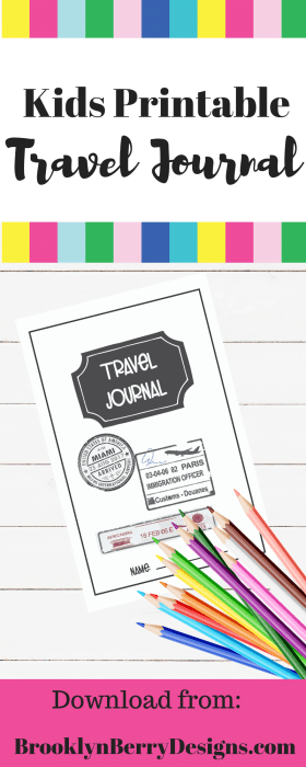 This printable travel journal is a great way to get kids writing and makes the perfect souvenir.