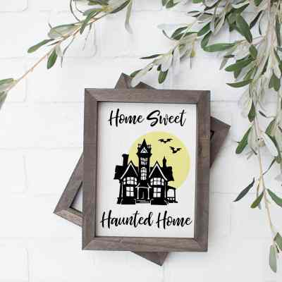 Free Haunted Home SVG