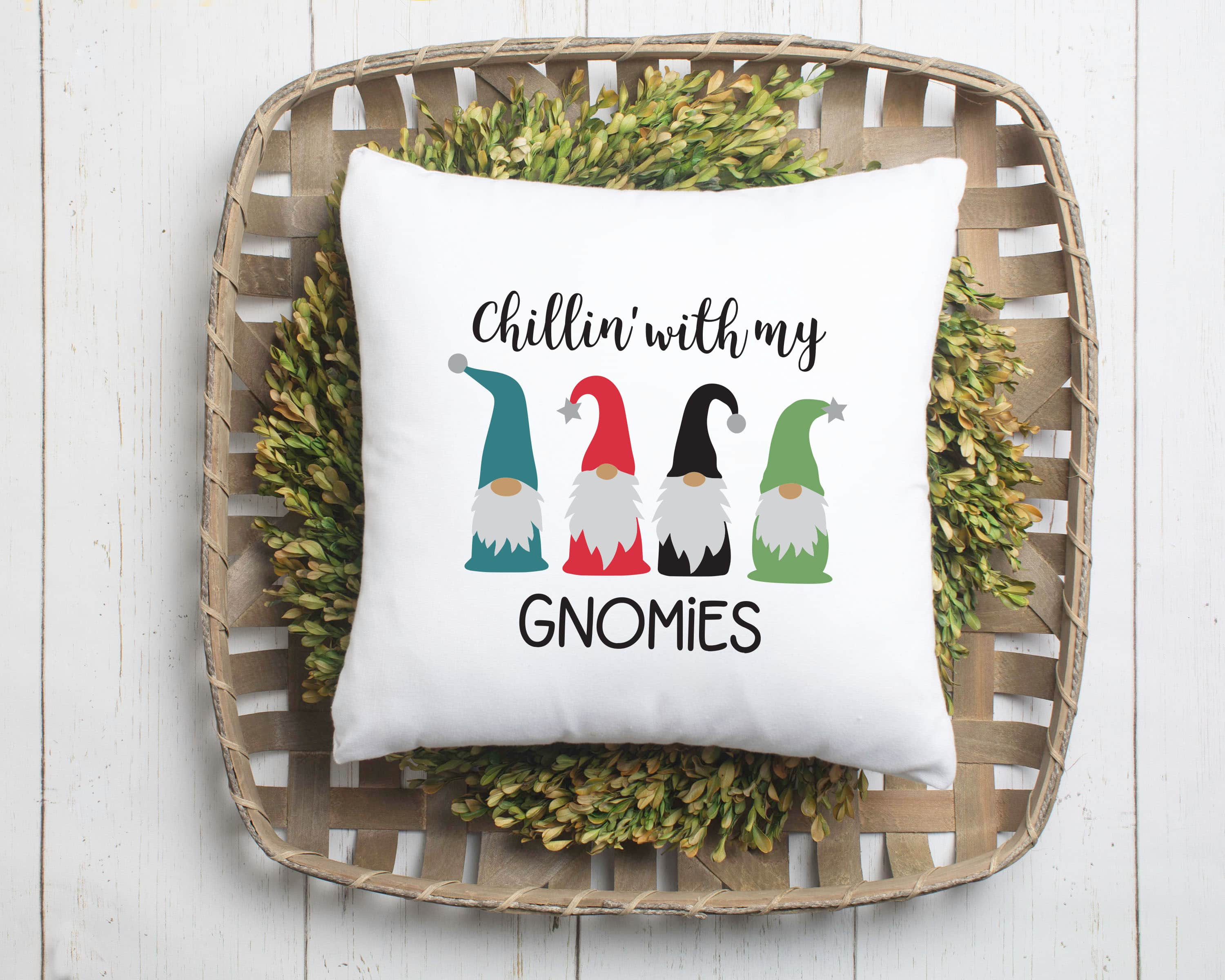 Chillin With My Gnomies Christmas Svg Brooklyn Berry Designs