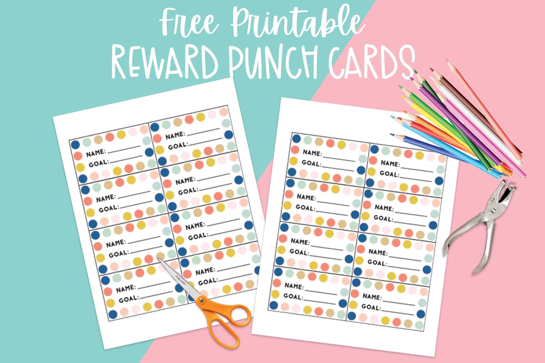 Printable Reward Punch Card - Brooklyn Berry Designs Within Reward Punch Card Template