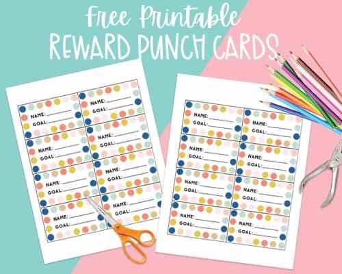 Reward Punch Cards