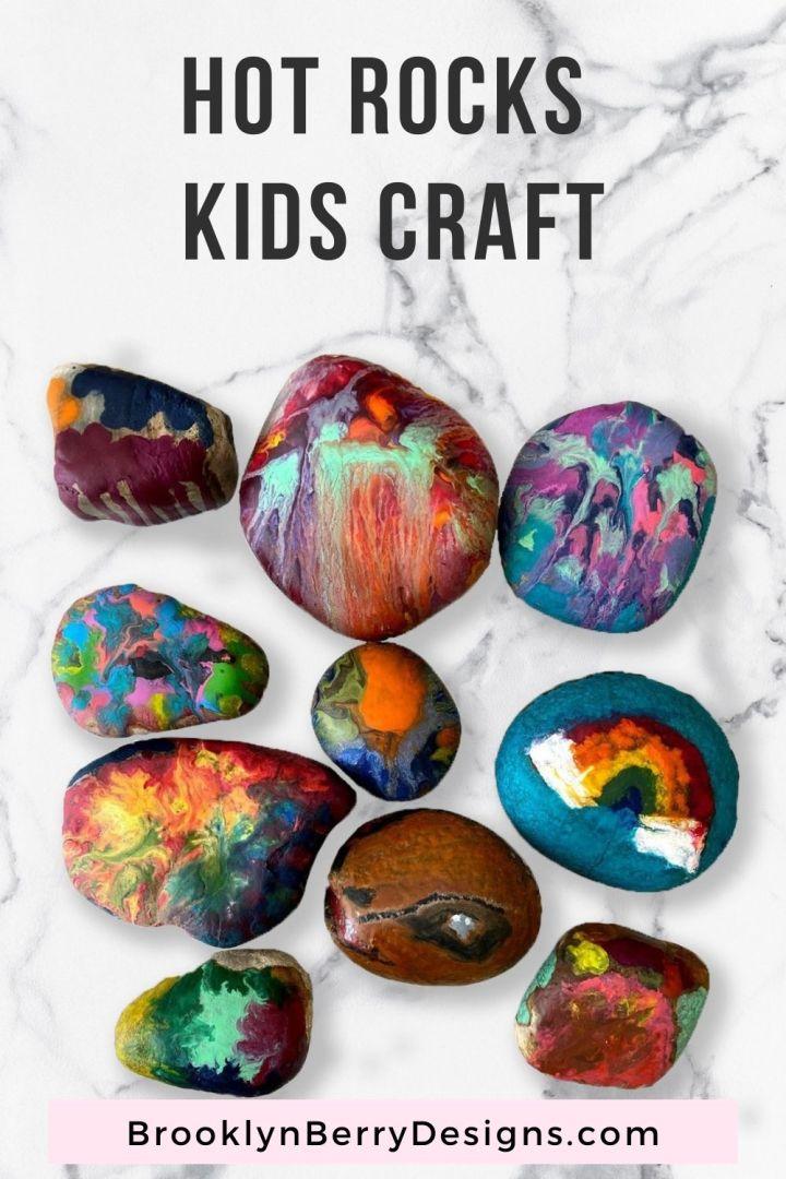 Hot Rocks Kids Craft via @brookeberry