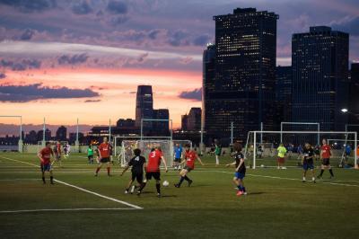 Soccer  Brooklyn Bridge Park