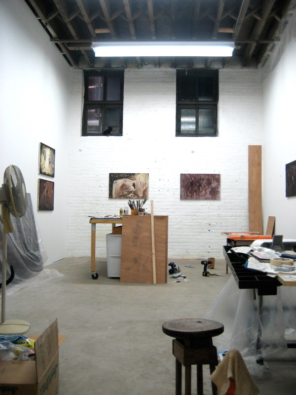 Artist Studio Brooklyn Brownstone