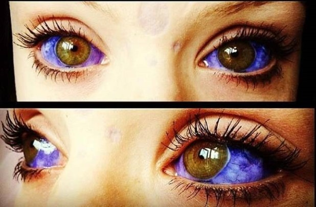 @graceneutral eye ball tattoo #respect #tattoos #art #eyeballtattoo #toughchick #dope #youreyesarecoolerthaneveryoneelses