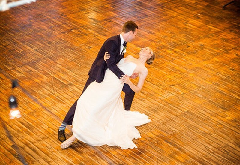 Samantha and John's first dance. Wedding routine choreographed by Brooklyn Dance Lessons.