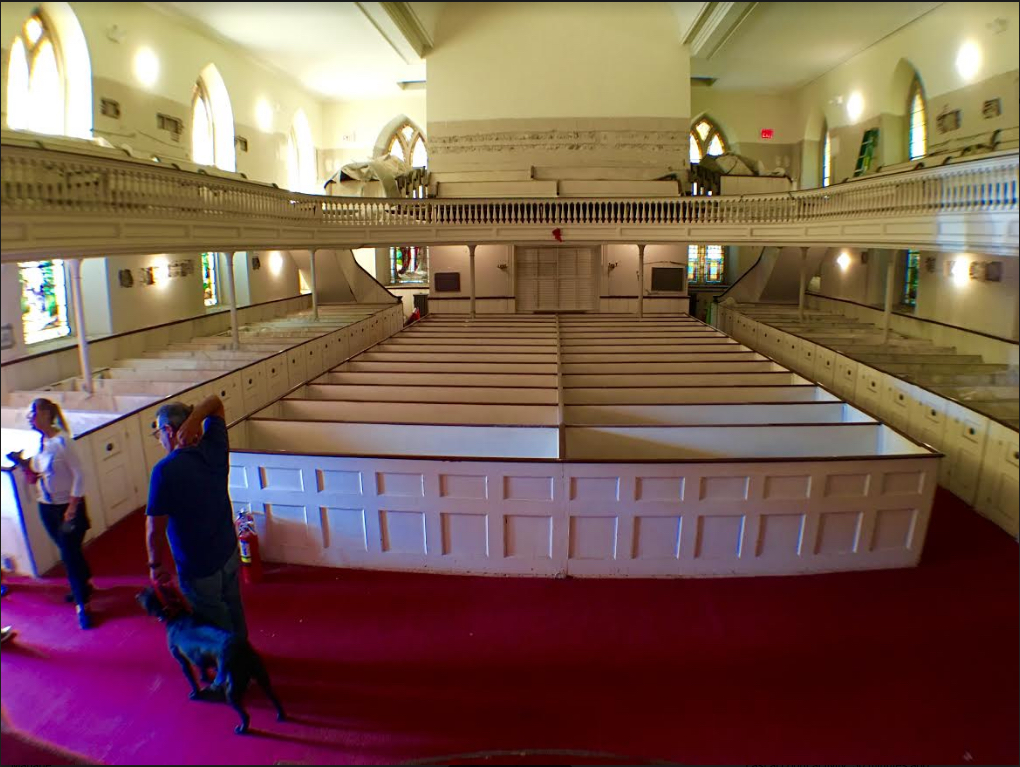 Step inside New Utrecht Reformed Church with the Brooklyn