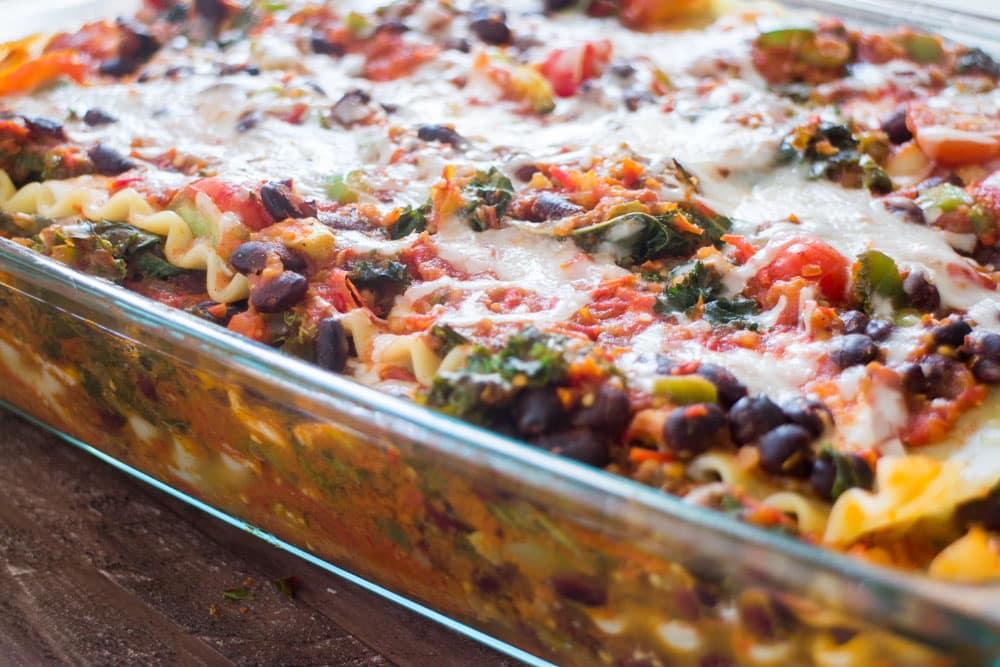 Mexican Vegetarian Lasagna  Brooklyn Farm Girl